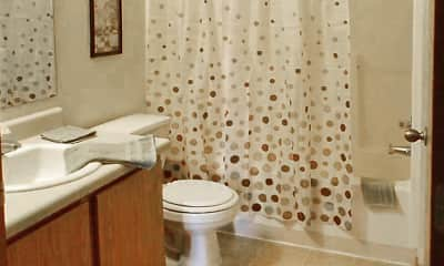 Bathroom, Mountain Boulevard Apartment Homes, 2