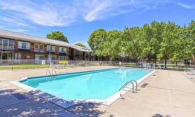 Pool, Cambridge House Apartments, 1
