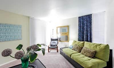 Living Room, Villas of Castle Hills, 1
