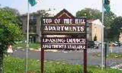 Community Signage, Top Of The Hill, 2