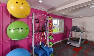Fitness Weight Room, Brickyard Flats, 2