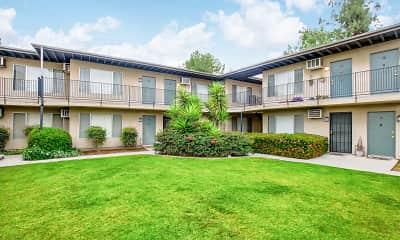 Building, Pine Villa Apartments, 1