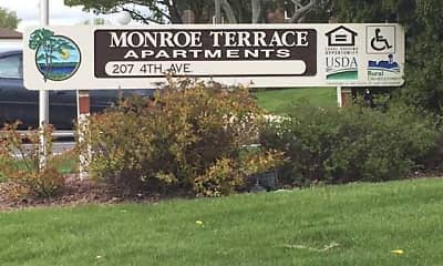 Community Signage, Monroe Terrace Apartments, 2