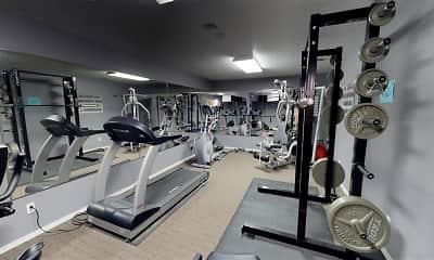 Fitness Weight Room, Sierra Vista Apartments, 1