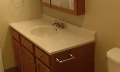 Bathroom, Belmont Ridge Apartments, 2