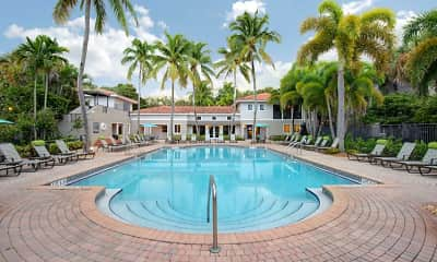 Pool, Coconut Palm Club Apartments, 0
