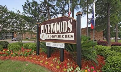 Community Signage, Pinewoods, 2