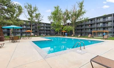 Pool, Mosaic Apartments, 2