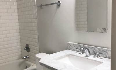Bathroom, Bellevue Apartments, 2