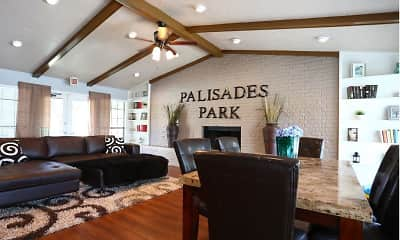 Living Room, Palisades Park, 1