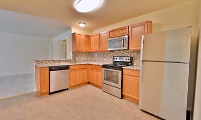 Kitchen, St. Mary's Landing Apartments and Townhomes, 1