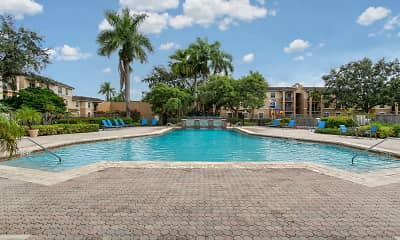 Pool, Pembroke Pines Landings, 0