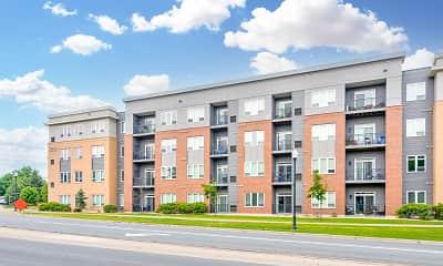 Building, The Flats at Cedar Grove Apartments, 1