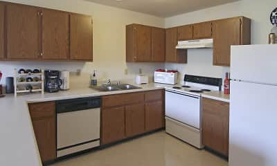 Kitchen, Brewers Point Apartments, 2