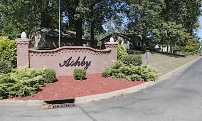 Community Signage, Ashby Apartments, 0