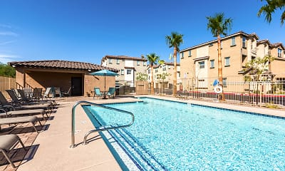 Pool, Luxury Townhomes at Park Tower, 0