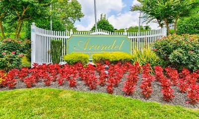 Community Signage, Arundel Apartments, 2