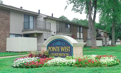 Community Signage, Pointe West, 2