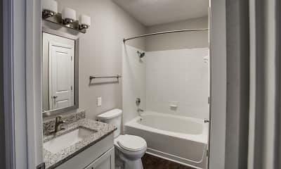 Bathroom, Mayfaire Apartments, 2