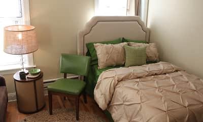 Bedroom, 1632 W. Belmont, 1