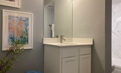 Bathroom, Station J-Town Apartments, 2