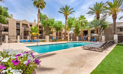 Pool, Meadow Glen Apartments, 1