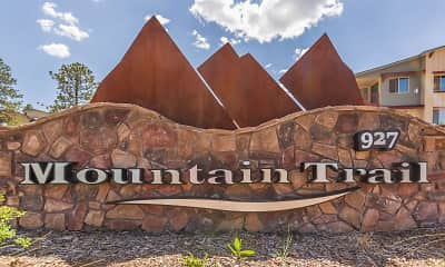 Community Signage, Mountain Trail Apartments, 0