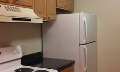 Kitchen, Brannon Park Apartments, 2