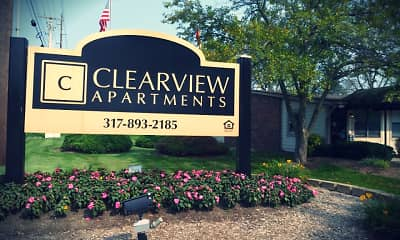 Community Signage, Clearview, 2