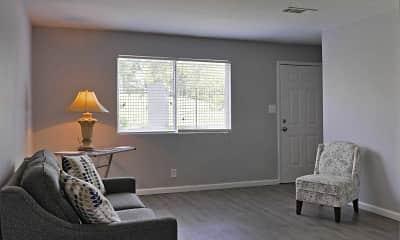 Living Room, Vineville Townhomes, 1