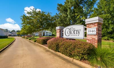 Community Signage, The Colony Apartment Homes, 1