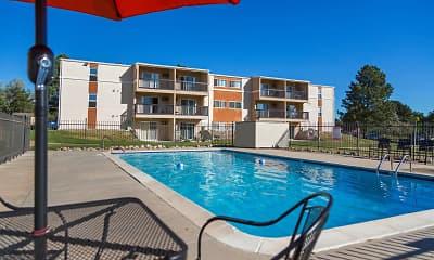 Pool, Broadmoor Springs Apartments, 2
