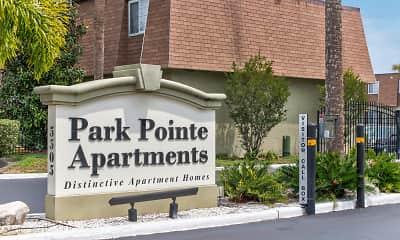 Community Signage, Park Pointe Apartments, 2
