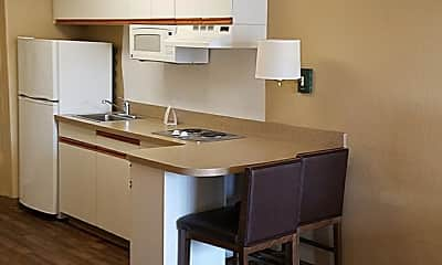 Kitchen, Furnished Studio - Dallas - DFW Airport N., 1