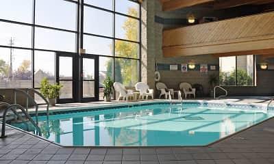 Pool, Park Avenue Apartments, 0