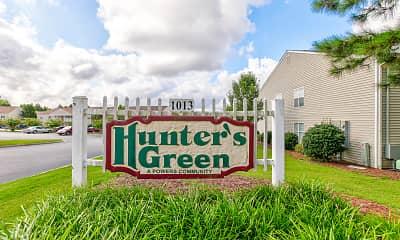 Community Signage, Hunter's Green Apartments, 1