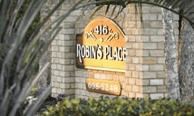 Community Signage, Robins Place, 0