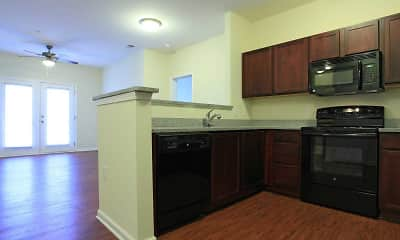 Kitchen, Kirkwood Place Apartments, 1