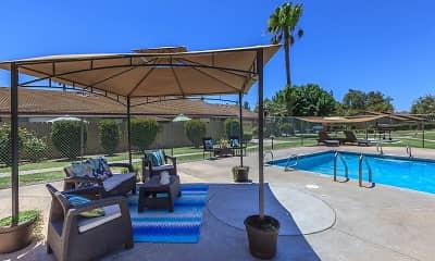 Pool, Meadowlark Apartments, 1