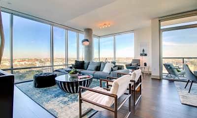 Living Room, 77030 Luxury Properties, 1