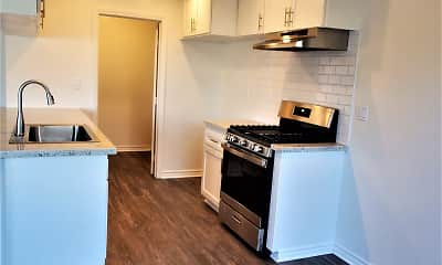 Kitchen, Knott Village Apartments, 1