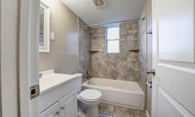 Bathroom, Waring Park Flats, 2