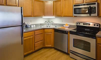 Kitchen, Greenfield Apartments, 1