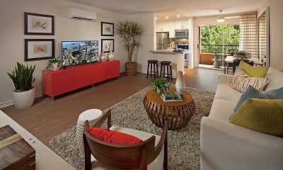 Living Room, Harborview Apartment Homes, 2