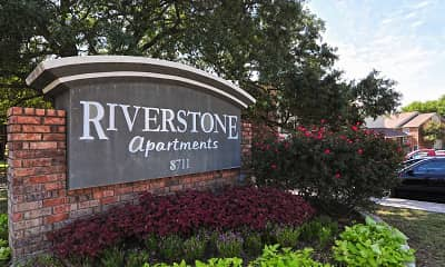 Community Signage, Riverstone Apartments, 2