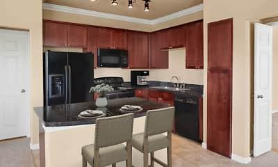 Kitchen, Camden Grand Harbor, 1
