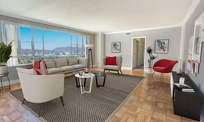 Living Room, Park La Brea, 0