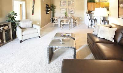 Living Room, SoundSide Apartments, 1