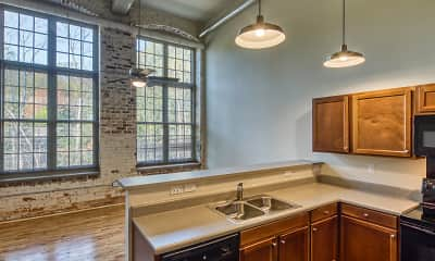 Kitchen, Lofts at Sterling Mill, 0