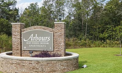 Community Signage, Arbours at Pierce Creek 55+, 2